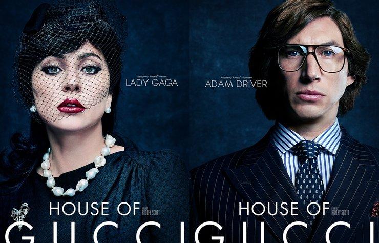House Of Gucci Karakter Afişleri ve Fragmanı Yayınlandı