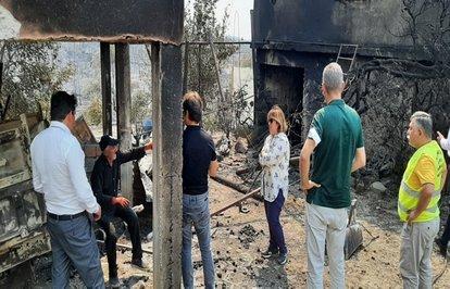YangınbölgelerindenTARSİMe431hasarihbarı