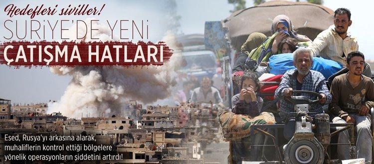 Suriye'de yeni çatışma hatları