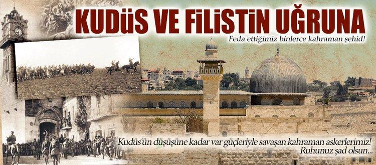 Kudüs ve Filistin uğruna binlerce şehid verdik