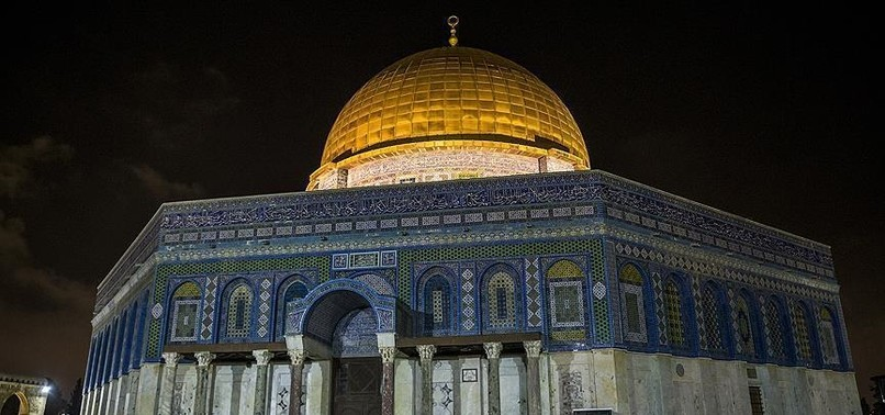 ISRAEL DELIBERATELY KEEPING DOME OF THE ROCK MOSQUE IN DARKNESS, WONT ALLOW OUTAGE FIXED