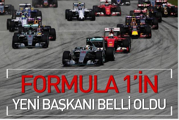 Formula 1'in yeni başkanı Carey