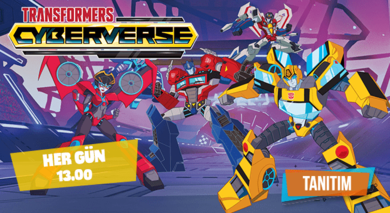 Transformers Cyberverse | Ekim Tanıtım