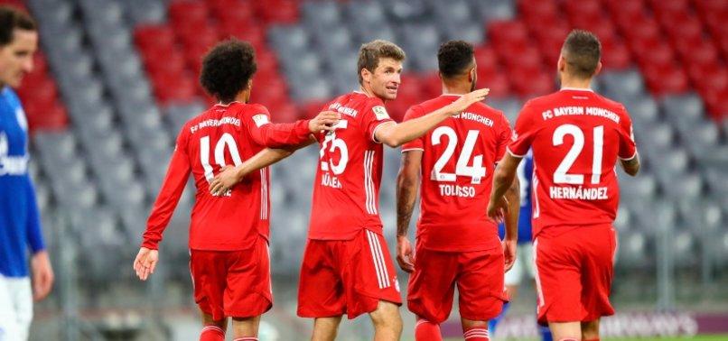 BAYERN ROUT SCHALKE 8-0 IN RECORD WIN FOR BUNDESLIGA OPENER