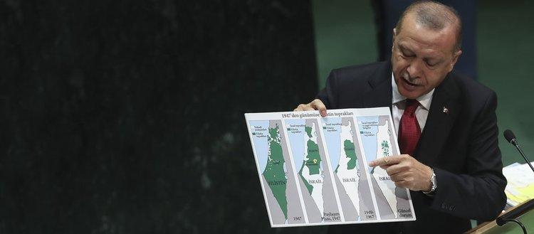 Erdoğan'ın BM'deki İsrail konuşması