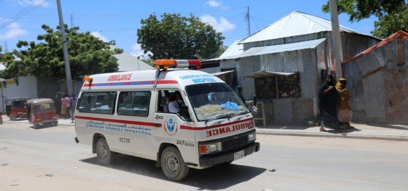 SOMALIA: SUICIDE CAR BOMBING KILLS 9, INJURES 14