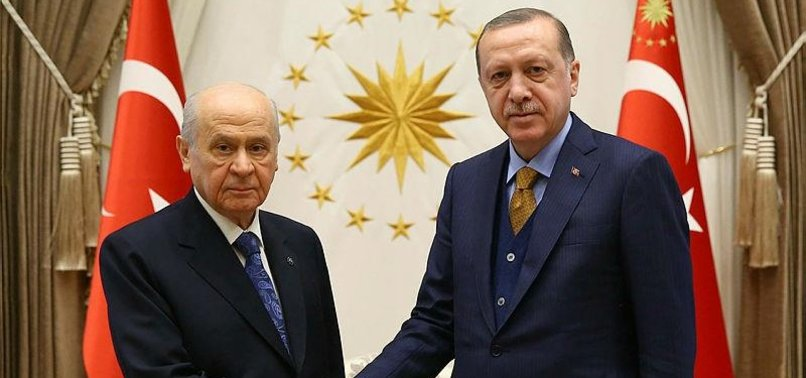 TURKEYS PRESIDENT MEETS OPPOSITION PARTY LEADER