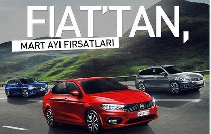 Fiat'tan, Mart ayı fırsatları