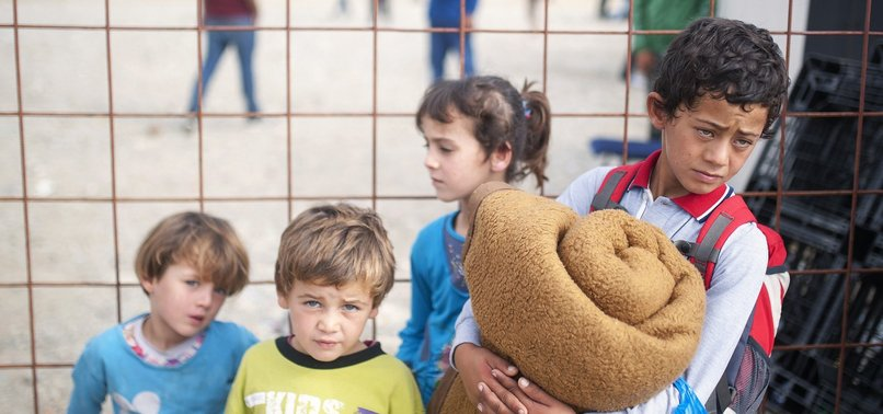 SHARP RISE IN CHILDREN IN FRENCH MIGRANT DETENTION