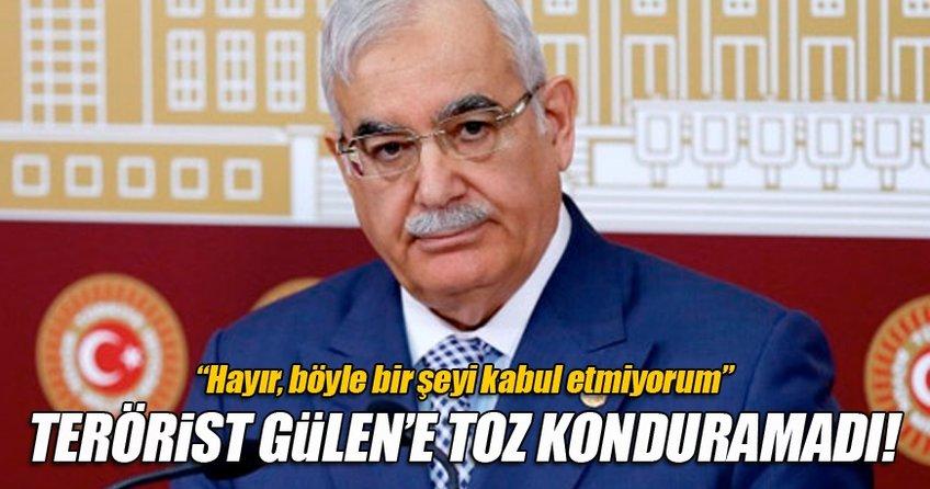 Terörist Gülen'e toz kondurmadı!