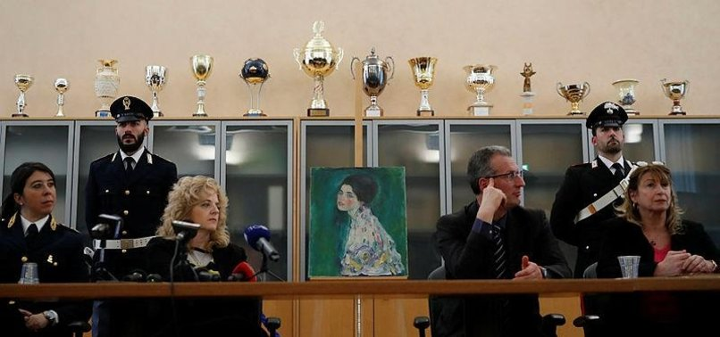 PAINTING FOUND IN ITALIAN GALLERYS WALLS VERIFIED AS KLIMT