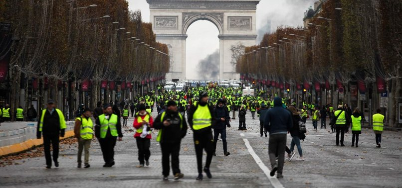 FRANCE SEEKING WAY OUT OF NATIONWIDE YELLOW VESTS PROTESTS
