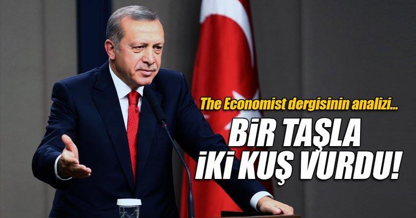 Cumhurbaşkanı Erdoğan, hem sınırı DEAŞ'tan temizledi hem de YPG'nin önünü kesti