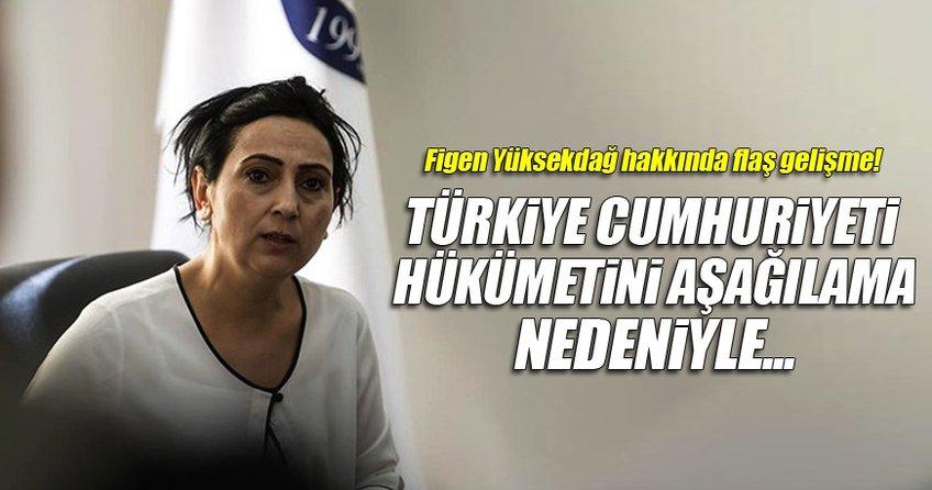 Figen Yüksekdağ'a dava açıldı