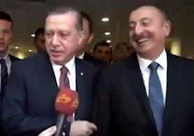 Erdoğan ve Aliyev'den sıcak görüntüler