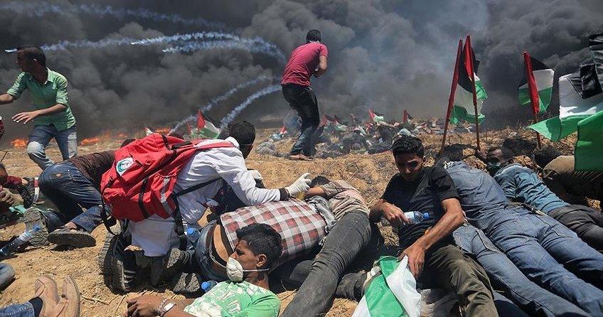 İsrailin Gazzede yaptığı katliam Avrupa basınında