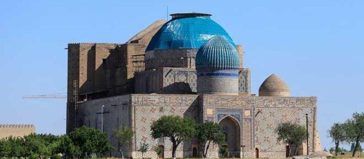 Orta Asya'nın kadim şehri Türkistan'daki tarihi...