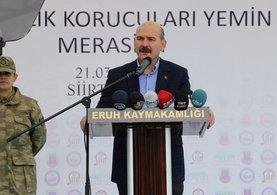 İçişleri Bakanı Süleyman Soylu: Tamamen çökertilmiştir