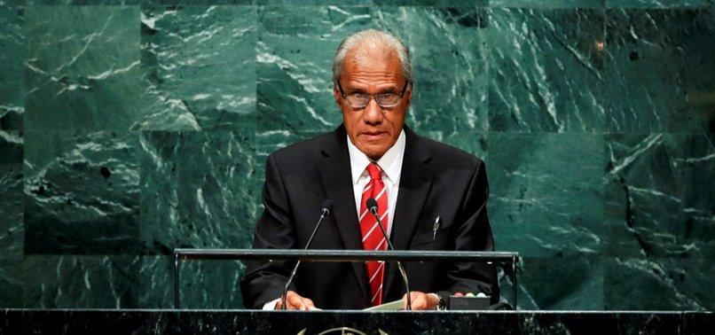 TONGAN PRIME MINISTER DEAD AT 78