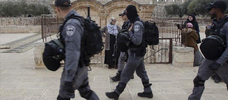 İsrail polisinin Mescid-i Aksa görevlilerine yönelik saldırıları artıyor