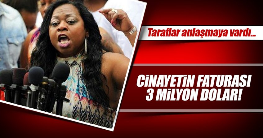 Polis cinayetine 3 milyon $ tazminat