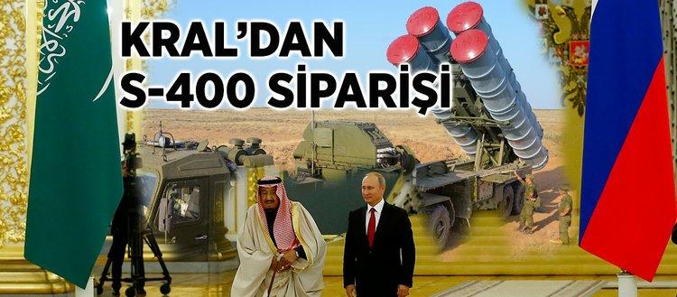 Suudi Arabistan ve Rusya'dan S-400 anlaşması