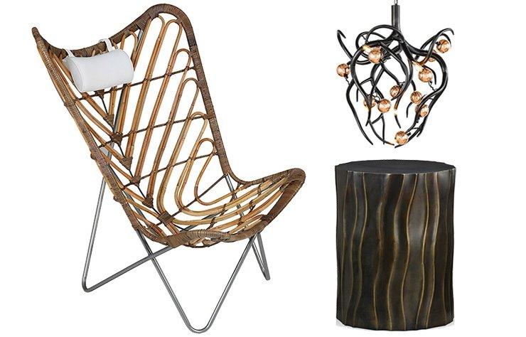 Kıvrımların hakim olduğu obje ve mobilyalarla, yaşam alanınıza yeni bir soluk getirin.