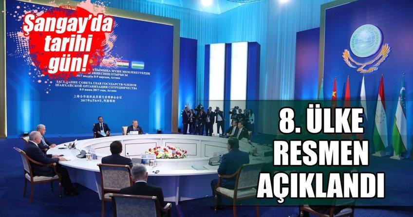 Pakistan resmen Şangay İşbirliği Örgütünde