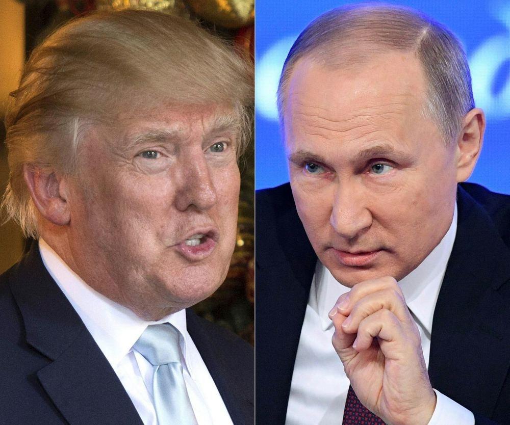 U.S. President-elect Donald Trump and Russian President Vladimir Putin.