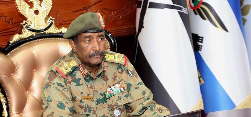 HEAD OF SUDAN'S MILITARY COUNCIL VISITING UAE