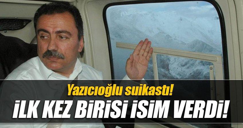 Muhsin Yazıcıoğlu ölümü ile ilgili isim verildi