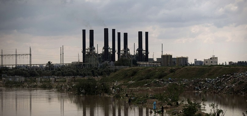 SHORT ON FUEL, GAZAS ONLY POWER PLANT SHUTS DOWN