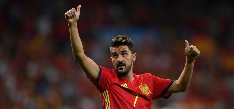 SPANISH STRIKER DAVID VILLA SET TO RETIRE FROM FOOTBALL