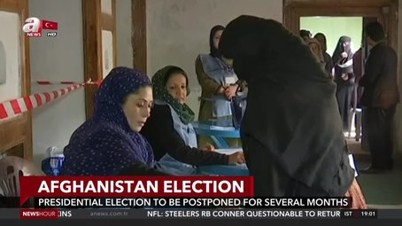 Afghanistan's presidential election to be postponed for