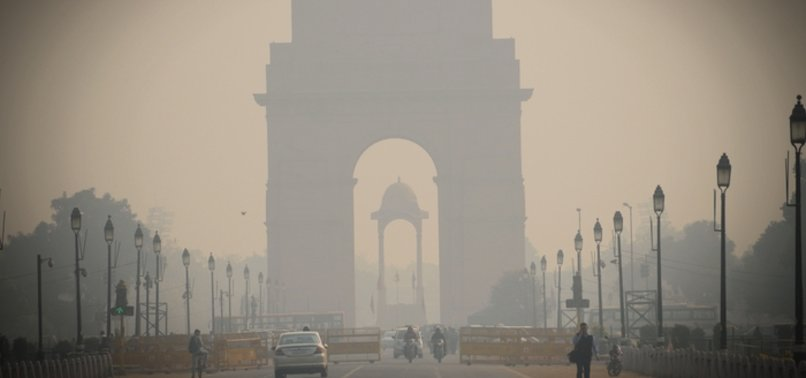 AIR QUALITY IN INDIAS CAPITAL HITS 8-MONTH LOW