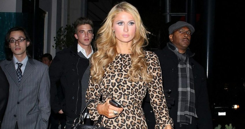 Paris Hilton'a Türk jesti