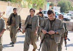 PKK'lı teröristler Kerkük'te!