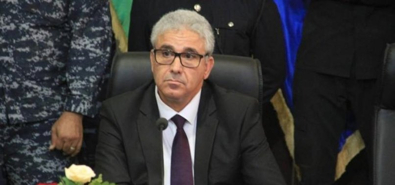 LIBYAN INTERIOR MINISTRY STOPS DEALING WITH FRANCE