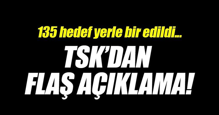 TSK'dan Fırat Kalkan Harekatı açıklaması