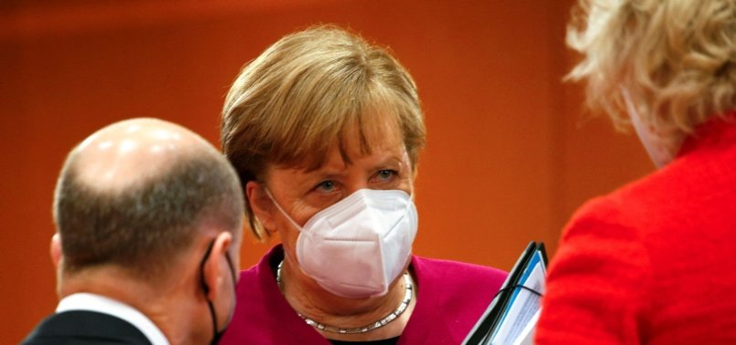 MERKEL SEES LIGHT AT THE END OF GERMANYS PANDEMIC TUNNEL