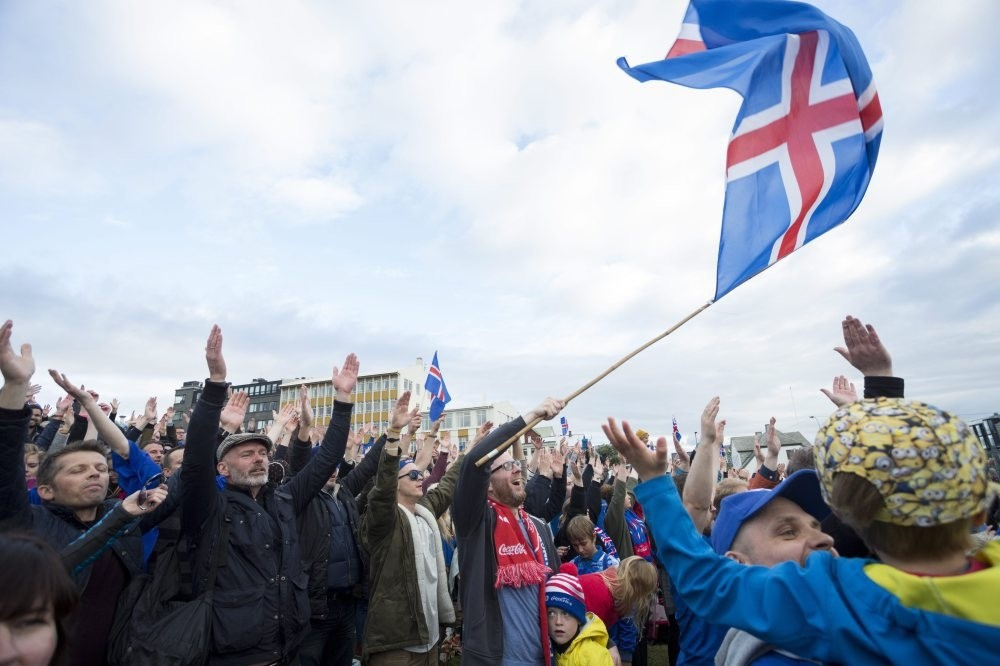 Iceland celebrates biggest victory | Daily Sabah
