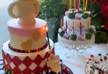 Kim Kardashian'ın kızı Chicago'nun ilk yaş günü partisi