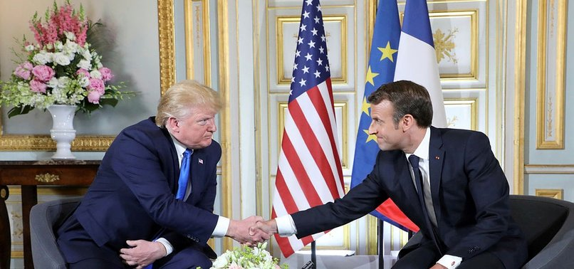 TRUMP AND MACRON DISCUSSED SENDING LEBANON IMMEDIATE AID DURING FRIDAY CALL -WHITE HOUSE