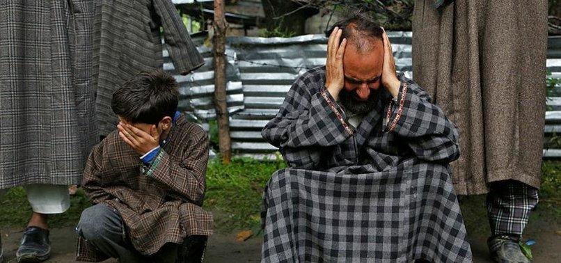 PAKISTANI FM QURESHI CALLS CHANGE IN KASHMIR DEMOGRAPHY A FORM OF GENOCIDE