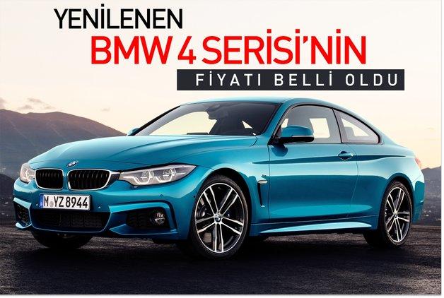 Yenilenen BMW 4 Serisi'nin fiyatı belli oldu