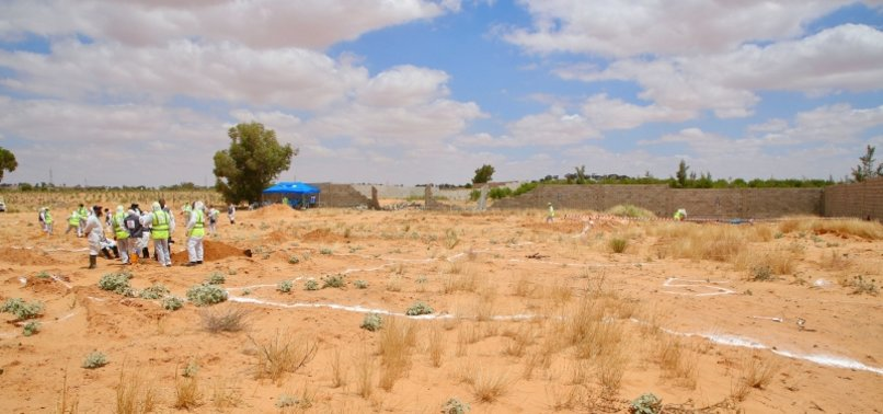 UN RIGHTS OFFICE HORRIFIED AT MASS GRAVES IN LIBYA