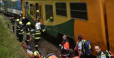 Two killed in head-on train collision in Czech mountain range