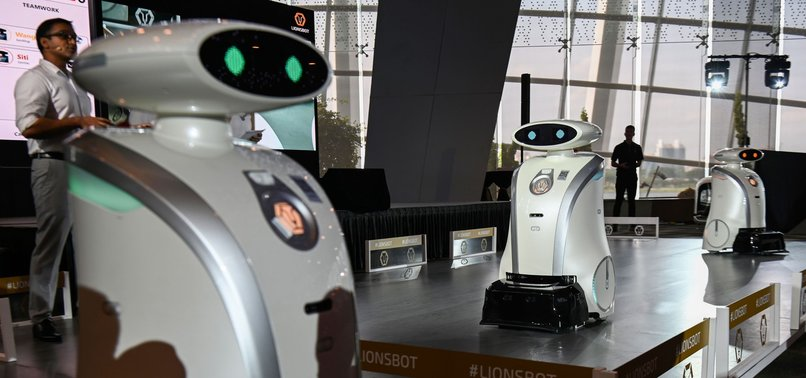 SINGAPORE DEPLOYS FRIENDLY ROBOTS TO SPRUCE UP CITY