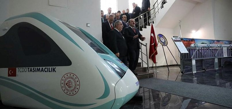 TURKEYS FIRST INDIGENOUS ELECTRIC TRAIN SET TO BE TESTED ON MAY 29