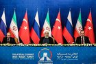 Türkiye-Rusya-İran Üçlü Zirvesi'nden tarihi mesajlar